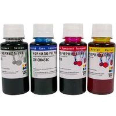 Продукция ColorWay Компл.черн. Epson T26/C91 (4x100mi) BK/C/M/Y Новая фотография
